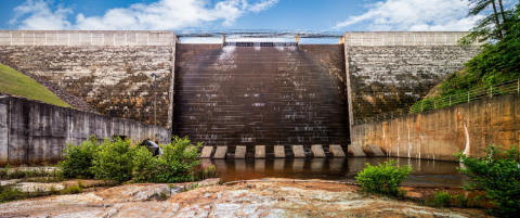 Hickory Log Creek Dam